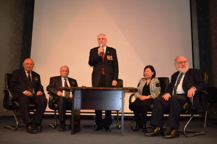 Открытие торжественного собрания в честь 95-летия дип. отношений между Россией и Монглией