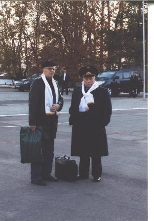 6.С В.Горбатко прилетели в Калмыкию на мероприятия (2010г.)