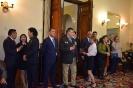 13. Прием в Посольстве Монголии - гости собираются